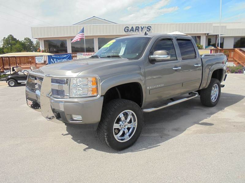 Chevrolet In Jacksonville Nc 2008 Chevrolet Silverado 1500 4WD LT1 4dr Crew Cab 5.8 ft ...
