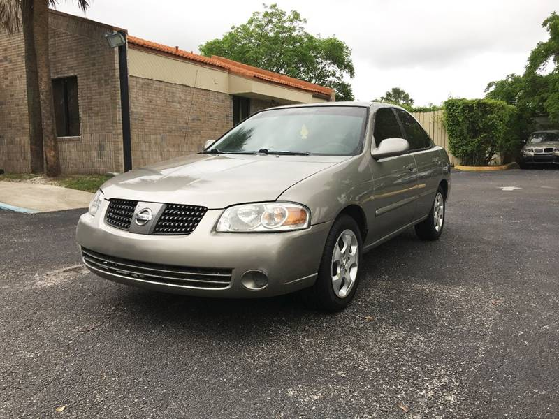 2005 Nissan Sentra for sale at Florida Auto Trend in Plantation FL