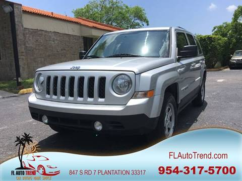 2011 Jeep Patriot for sale at Florida Auto Trend in Plantation FL