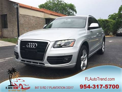 2009 Audi Q5 for sale at Florida Auto Trend in Plantation FL