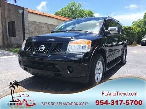 2011 Nissan Armada for sale at Florida Auto Trend in Plantation FL