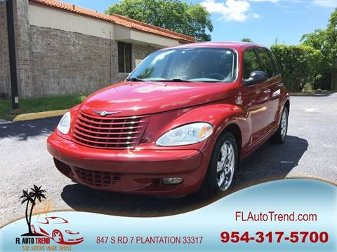 2002 Chrysler PT Cruiser for sale at Florida Auto Trend in Plantation FL