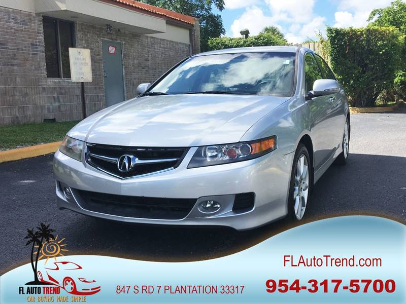 2007 Acura TSX for sale at Florida Auto Trend in Plantation FL