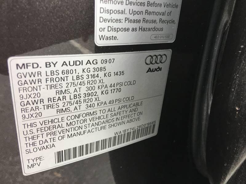 2008 Audi Q7 for sale at Florida Auto Trend in Plantation FL