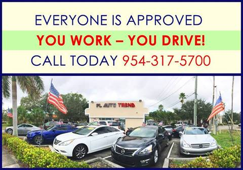 2013 Dodge Durango for sale at Florida Auto Trend in Plantation FL