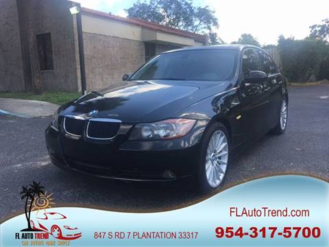 2006 BMW 3 Series for sale at Florida Auto Trend in Plantation FL