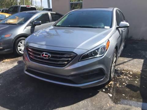 2016 Hyundai Sonata for sale at Florida Auto Trend in Plantation FL