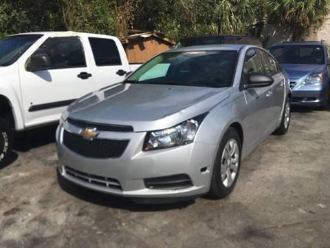 2014 Chevrolet Cruze for sale at Florida Auto Trend in Plantation FL