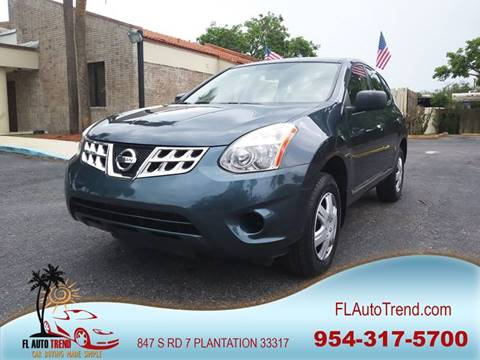 2012 Nissan Rogue for sale at Florida Auto Trend in Plantation FL
