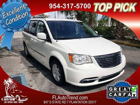 2012 Chrysler Town and Country for sale in Plantation, FL
