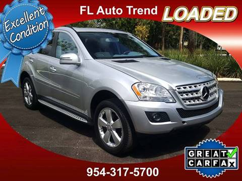 2011 Mercedes Benz M Class For Sale At Florida Auto Trend In Plantation FL