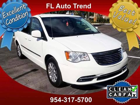 2013 Chrysler Town And Country For Sale At Florida Auto Trend In Plantation FL