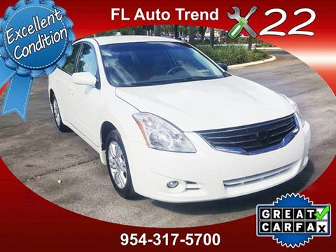 2012 Nissan Altima 25 S For Sale At Florida Auto Trend In Plantation FL
