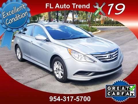 2014 Hyundai Sonata For Sale At Florida Auto Trend In Plantation FL