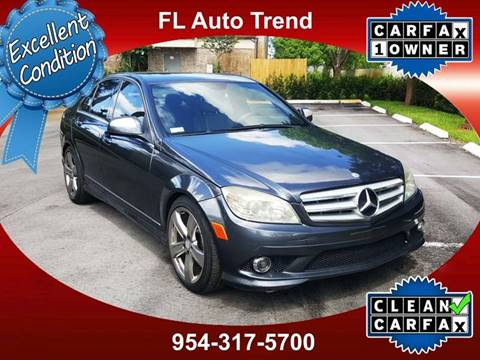 2008 Mercedes Benz C Class For Sale At Florida Auto Trend In Plantation FL