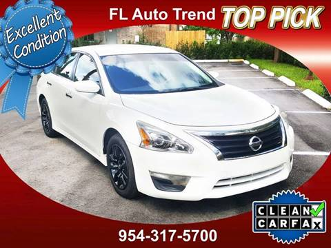 2015 Nissan Altima For Sale At Florida Auto Trend In Plantation FL