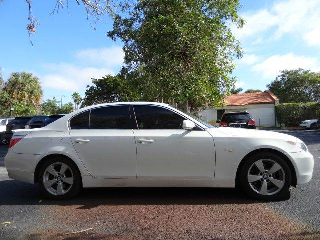 2007 BMW 5 Series for sale at Florida Auto Trend in Plantation FL