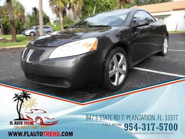 2007 Pontiac G6 for sale at Florida Auto Trend in Plantation FL