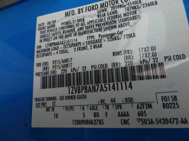 2010 Ford Mustang for sale at Florida Auto Trend in Plantation FL