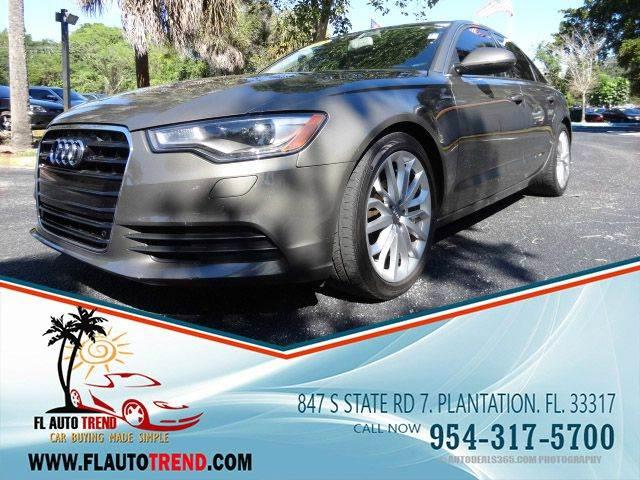 2012 Audi A6 for sale at Florida Auto Trend in Plantation FL