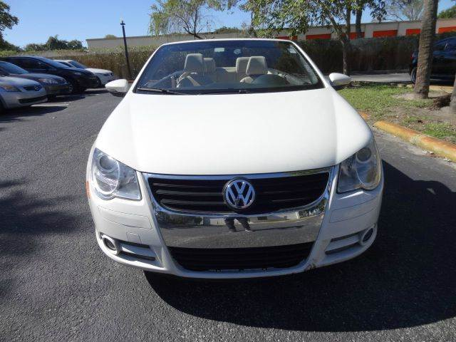 2010 Volkswagen Eos for sale at Florida Auto Trend in Plantation FL