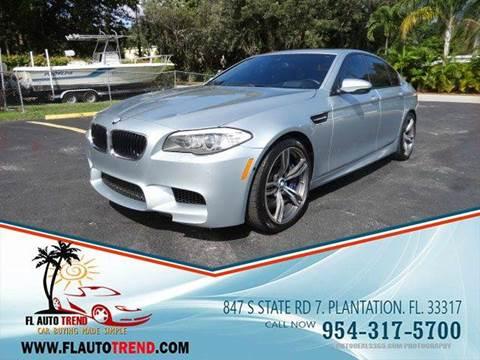 BMW M5 For Sale In Plantation FL