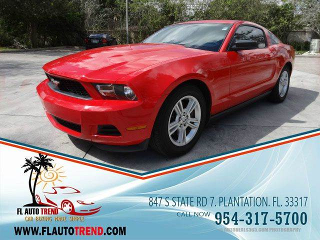 2012 Ford Mustang for sale at Florida Auto Trend in Plantation FL
