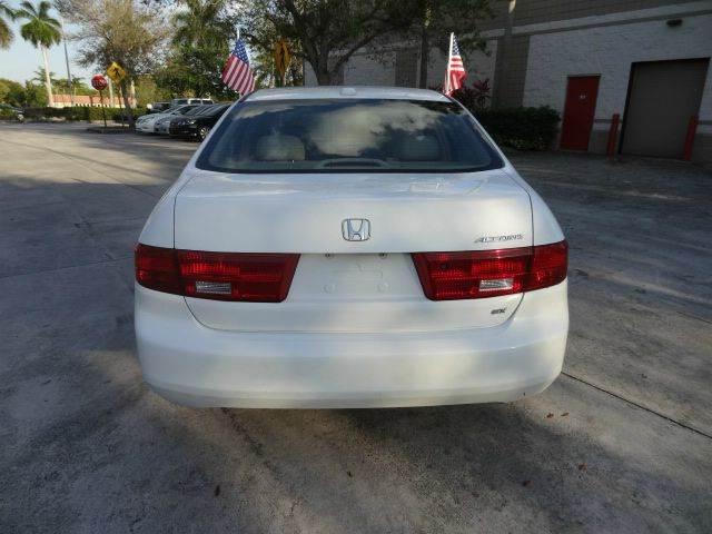 2005 Honda Accord for sale at Florida Auto Trend in Plantation FL