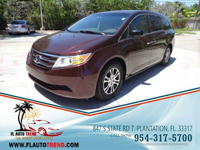 2012 Honda Odyssey for sale at Florida Auto Trend in Plantation FL