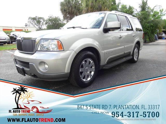 2004 Lincoln Navigator for sale at Florida Auto Trend in Plantation FL