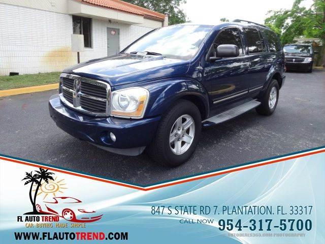 2004 Dodge Durango for sale at Florida Auto Trend in Plantation FL
