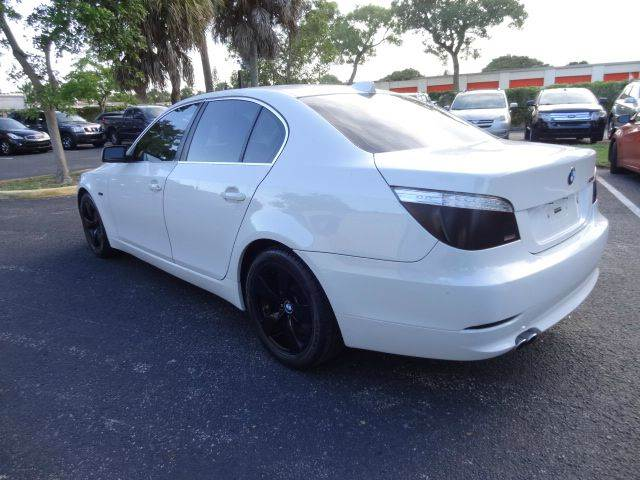 2008 BMW 5 Series for sale at Florida Auto Trend in Plantation FL