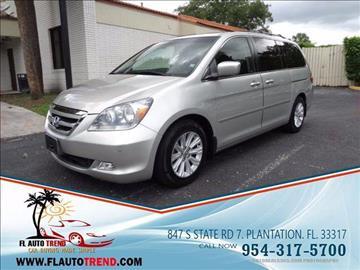 2005 Honda Odyssey for sale in Plantation, FL