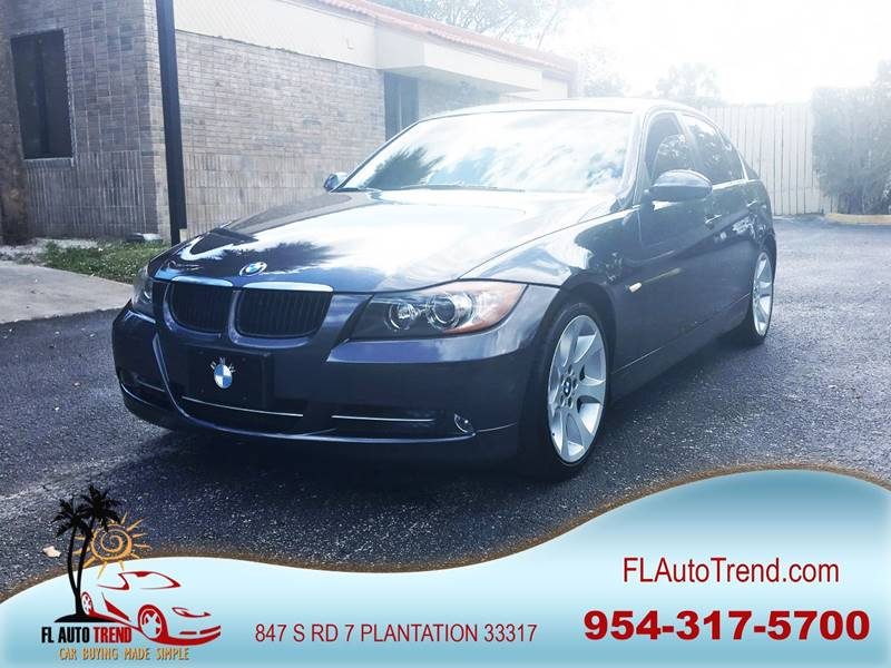 2007 BMW 3 Series for sale at Florida Auto Trend in Plantation FL