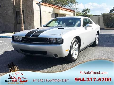 2010 Dodge Challenger for sale in Plantation, FL