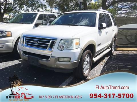 2007 Ford Explorer for sale in Plantation, FL