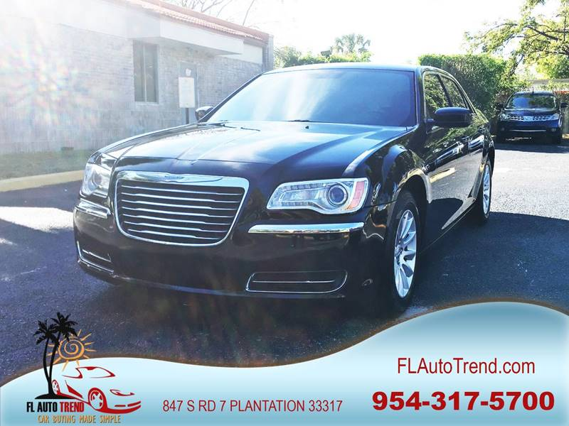 2013 Chrysler 300 for sale at Florida Auto Trend in Plantation FL