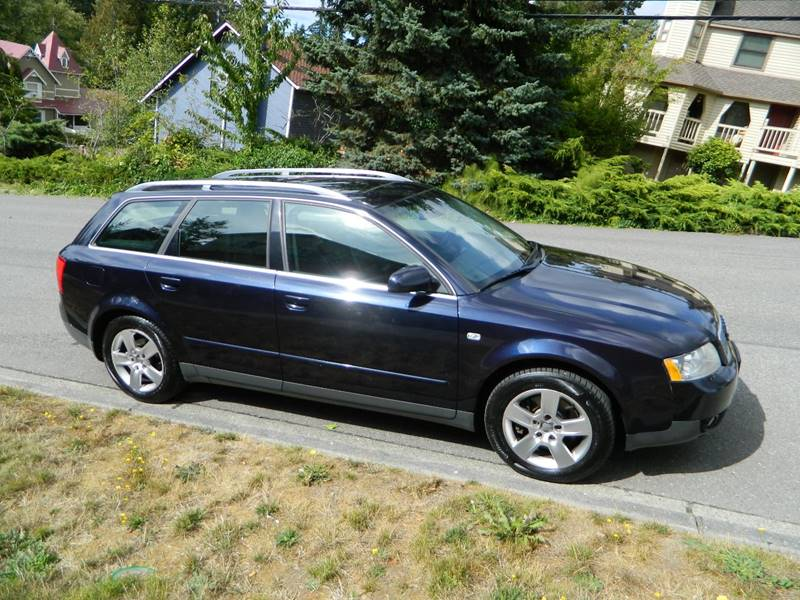 Audi A AWD Avant Quattro Dr Wagon In Lynnwood WA J R - 2003 audi