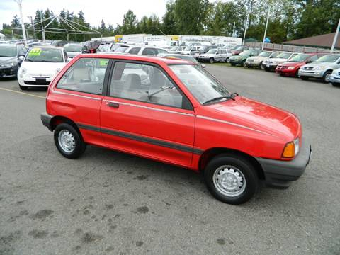 1989 Ford Festiva for sale in Lynnwood, WA