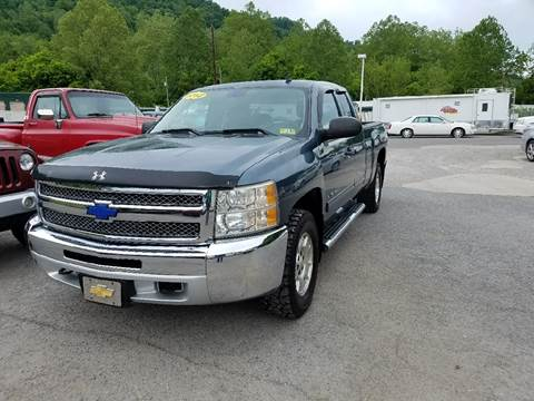 2012 Chevrolet Silverado 1500 for sale at Johnnies Quality Preowned Auto LLC in Weston WV