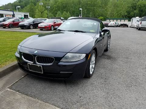 2007 BMW Z4 for sale at Johnnies Quality Preowned Auto LLC in Weston WV