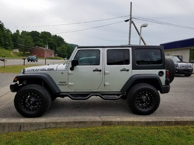 2012 Jeep Wrangler Unlimited for sale at Johnnies Quality Preowned Auto LLC in Weston WV