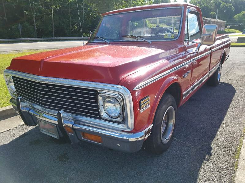 1972 Chevrolet C/K 10 Series for sale at Johnnies Quality Preowned Auto LLC in Weston WV
