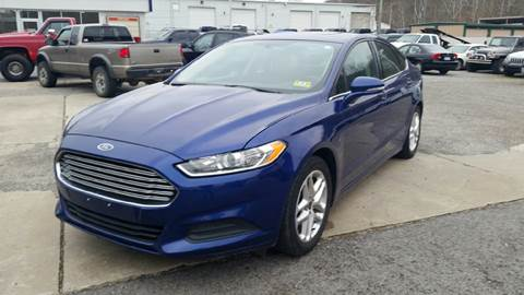 2013 Ford Fusion for sale at Johnnies Quality Preowned Auto LLC in Weston WV