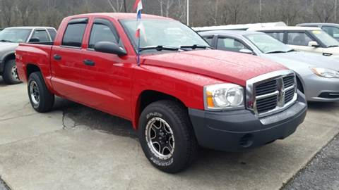 2005 Dodge Dakota for sale at Johnnies Quality Preowned Auto LLC in Weston WV