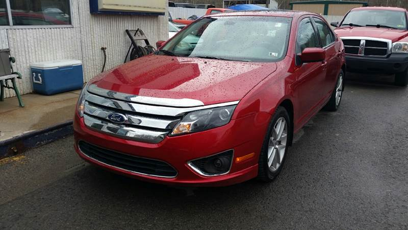 2011 Ford Fusion for sale at Johnnies Quality Preowned Auto LLC in Weston WV