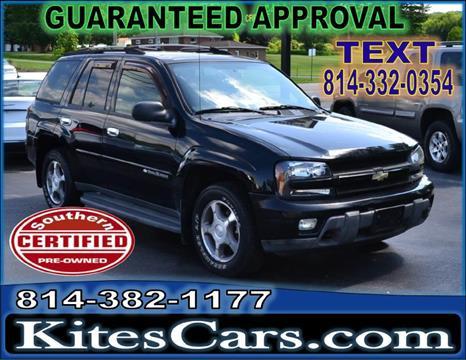 2004 Chevrolet TrailBlazer for sale at Kightlinger Auto Sales, Inc in Meadville PA