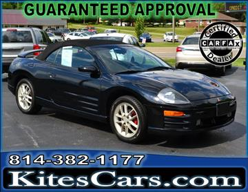 2001 Mitsubishi Eclipse Spyder for sale in Meadville, PA