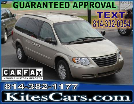 2007 Chrysler Town and Country for sale at Kightlinger Auto Sales, Inc in Meadville PA