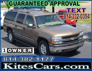 2004 Chevrolet Suburban for sale at Kightlinger Auto Sales, Inc in Meadville PA